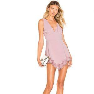 REVOLVE NBD Alexandra mini dress in pastel pink